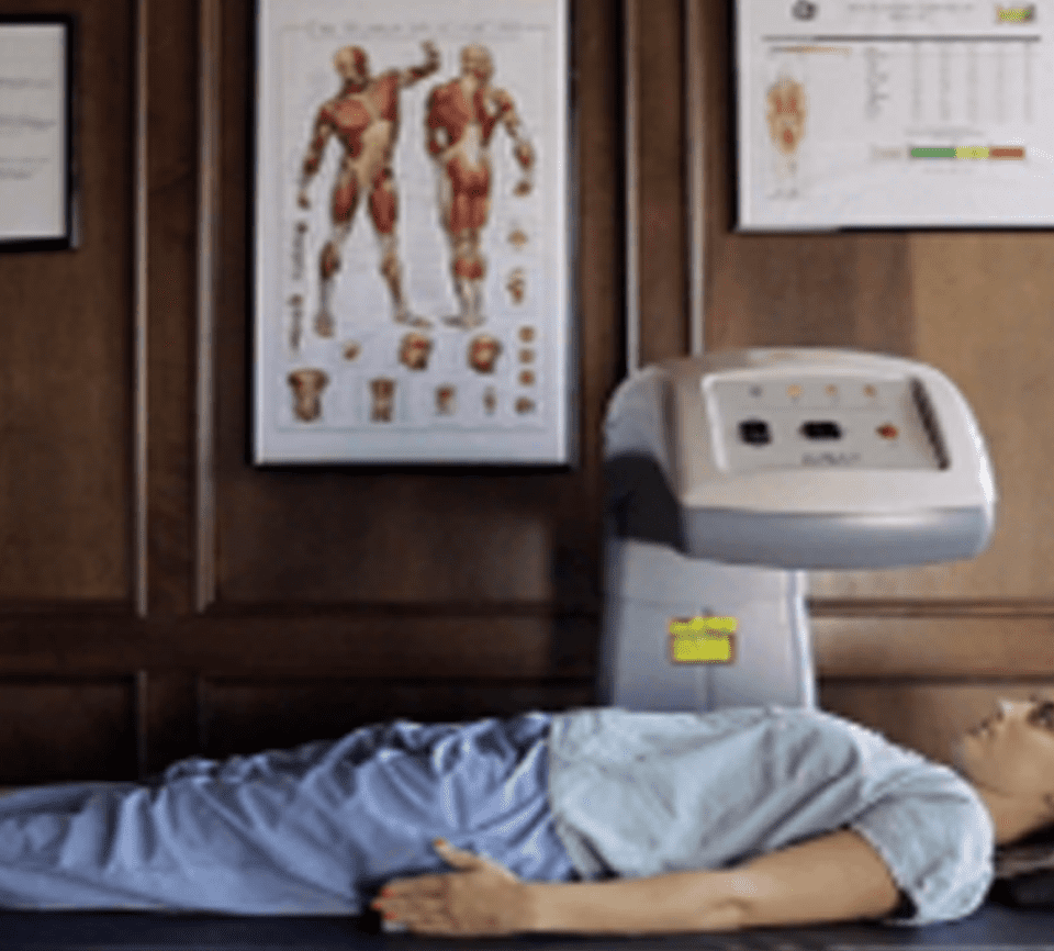DEXA Plus, dual energy xray absorptiometry DEXA scanner: Get a more accurate representation of your overall health.